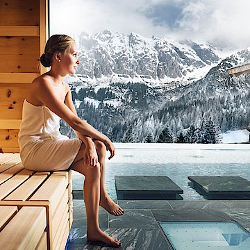 Wellnessurlaub in den Bergen